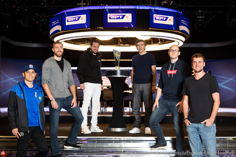 Finalistas do Main Event do EPT Monte Carlo