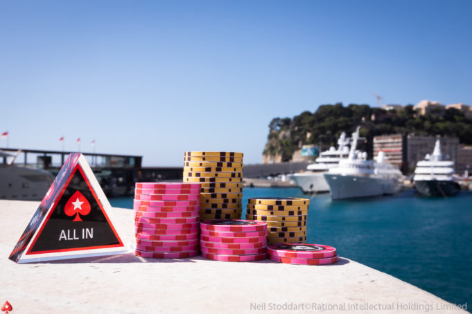 EPT Monte Carlo Fichas e All in