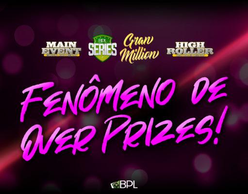 Overprizes Brasil Poker Live