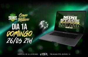 Mini Stack do Brasil Poker Live