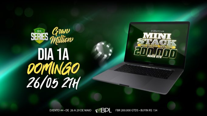 Mini Stack do Brasil Poker Live