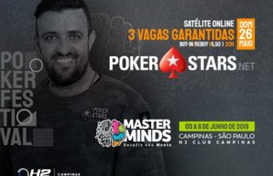 Satélites Main Event do MasterMinds