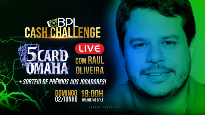 Cash Challenge com Raul Oliveira