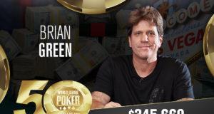 Brian Green - Campeão Evento #2 - WSOP 2019