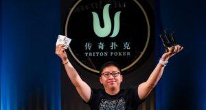 Quek Sheng - Campeão Evento #7 - Triton SHR Montenegro