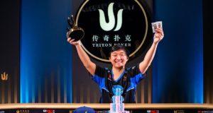 Rui Cao - Campeão Main Event Short Deck Triton SHR Montenegro