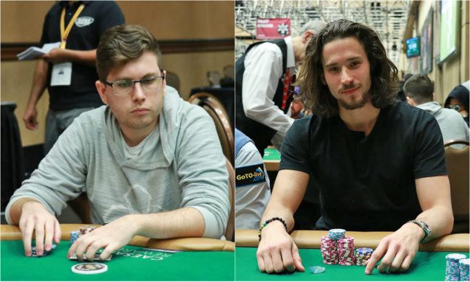 João Valli e Gustavo Hess - WSOP 2019