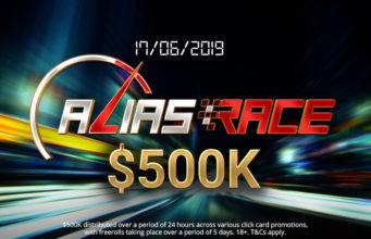 Alias Race do partypoker