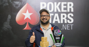 Leandro Leite campeão do All in ou Fold do MasterMinds 12