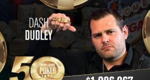 Dash Dudley campeão do Evento #52 da WSOP
