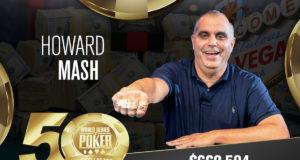 Howard Mash campeão do Seniors Championship da WSOP