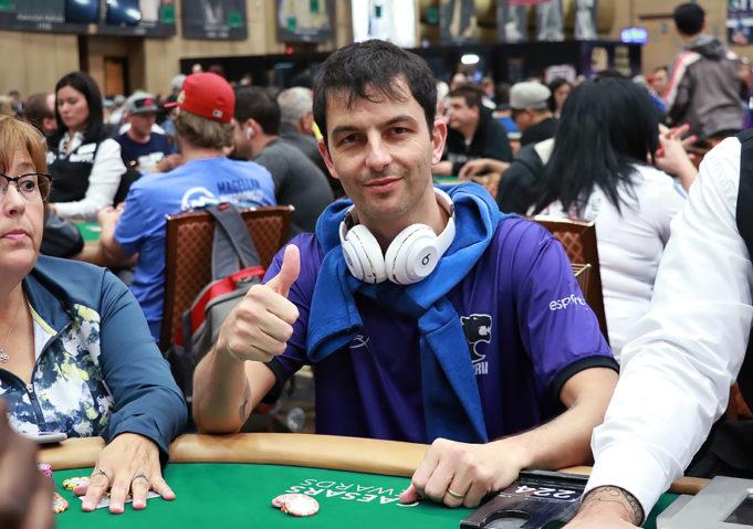 Enio Bozzano - Evento 61B - WSOP