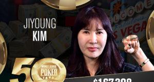 Jiyoung Kim campeã do Evento #47 da WSOP