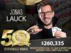 Jonas Lauck campeão do Evento #56 da WSOP