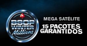 Mega Satélite para o BSOP Winter Millions