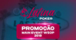Promoção Latina Poker no Main Event da WSOP