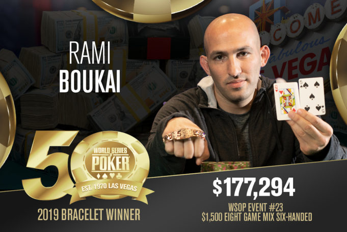 Rami Boukai campeão do Evento #23 da WSOP