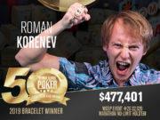 Roman Korenev campeão do Marathon da WSOP