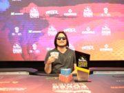 Dante Goya campeão do High Roller do NPS Fortaleza
