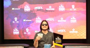 Dante Goya campeão do High Roller do NPS Fortaleza