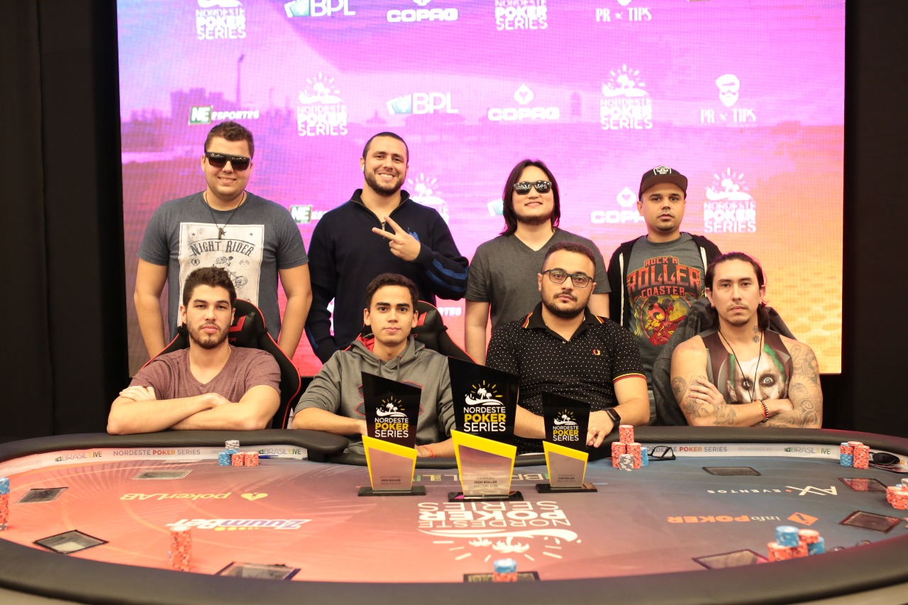 Mesa final do High Roller do NPS Fortaleza