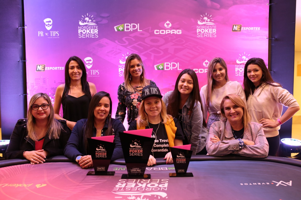 Mesa final do Ladies Event do NPS Fortaleza
