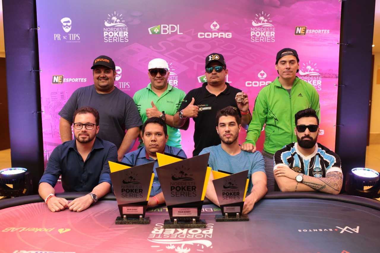 Mesa final do Main Event do NPS Fortaleza
