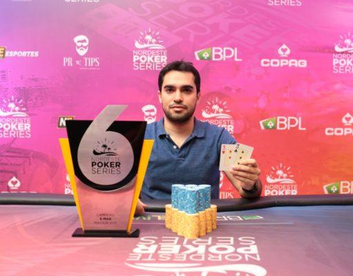Davi Fiusa campeão do 6-handed do NPS Fortalezah