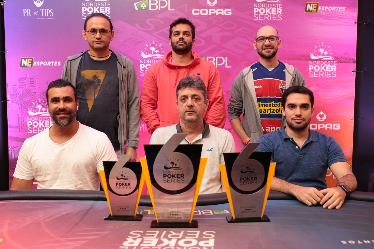 Mesa final do 6-handed do NPS Fortaleza