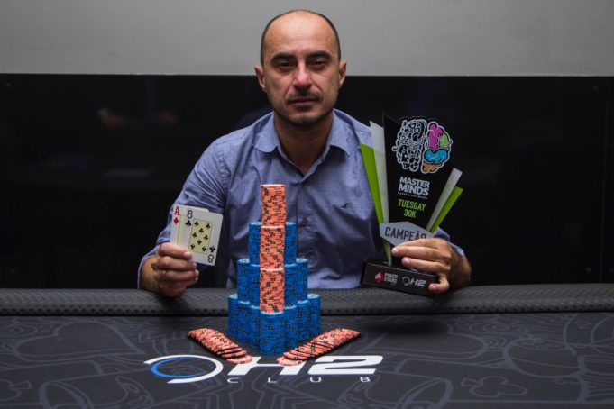 Willian Gardim campeão do Tuesdady 30K do MasterMinds 12