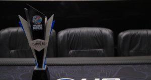 Troféu de campeão do MasterMinds 12