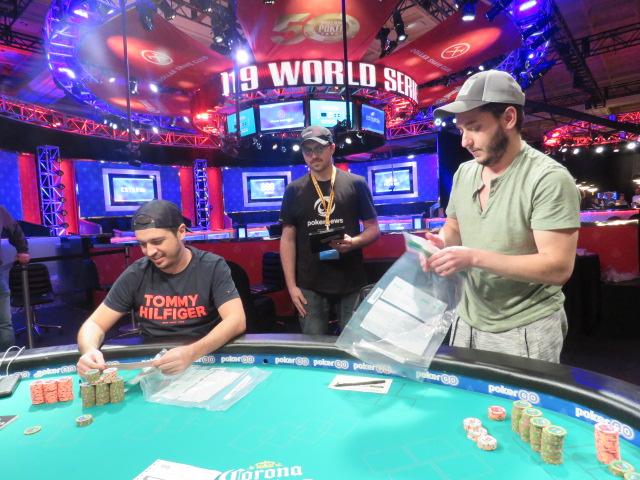 Murilo Figueredo e Jason Stockfish - WSOP 2019