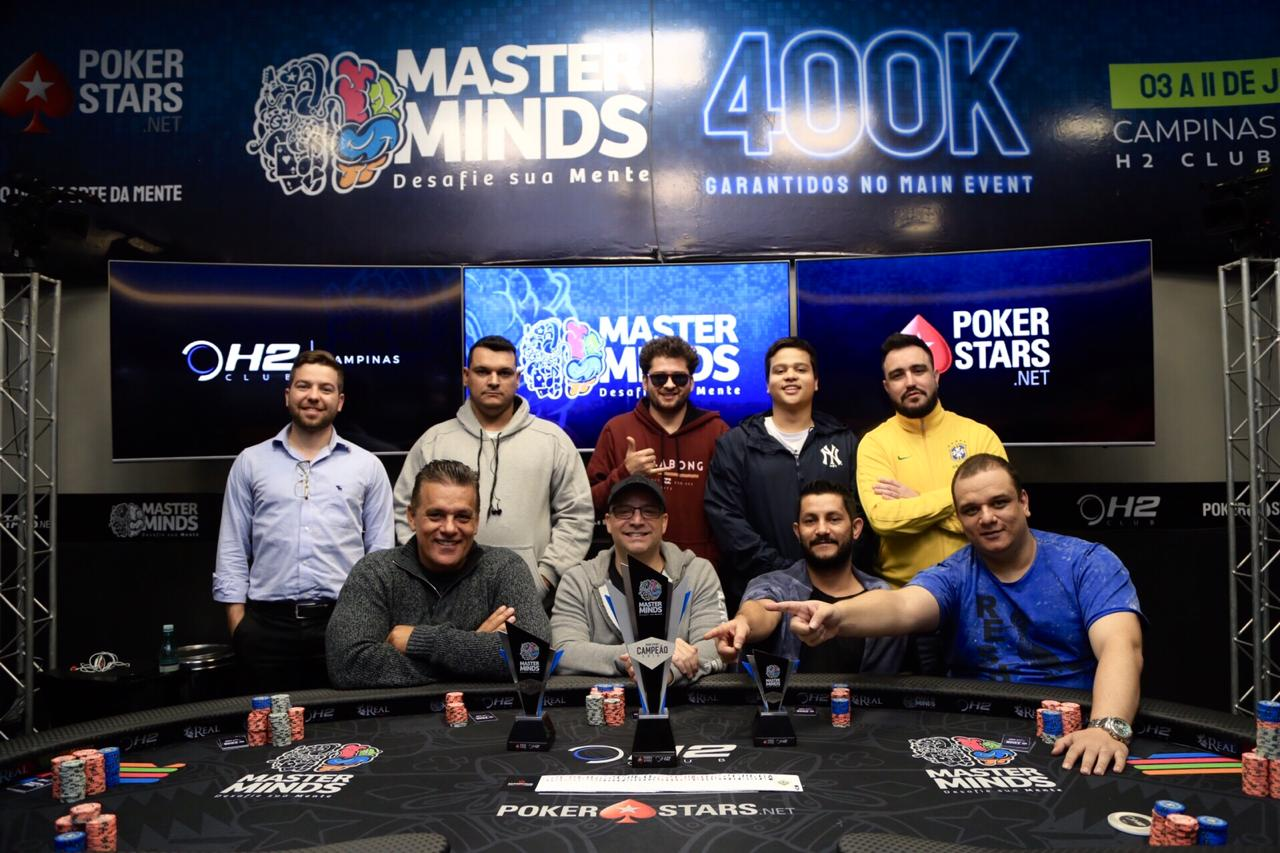 Mesa Final do Main Event do MasterMinds 12