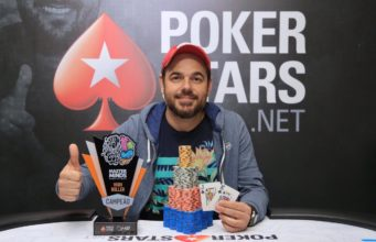 Fernando Vacker campeão do One Day High Roller do MasterMinds 12