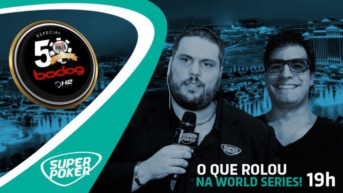 Live sobre a WSOP com Victor Maques e Guilherme Kalil