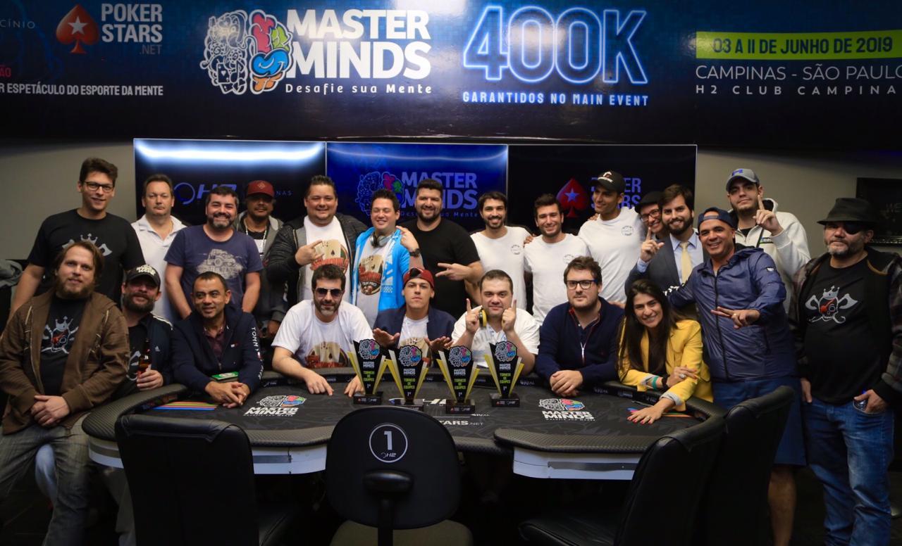Mesa Final do Torneio por Equipes do MasterMinds 12
