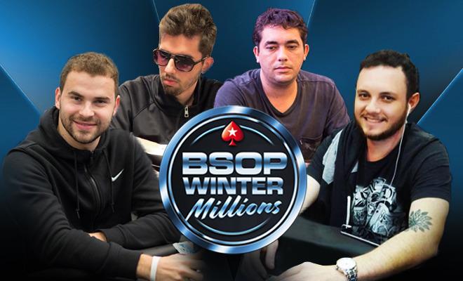 Classificados para o BSOP Winter Millions