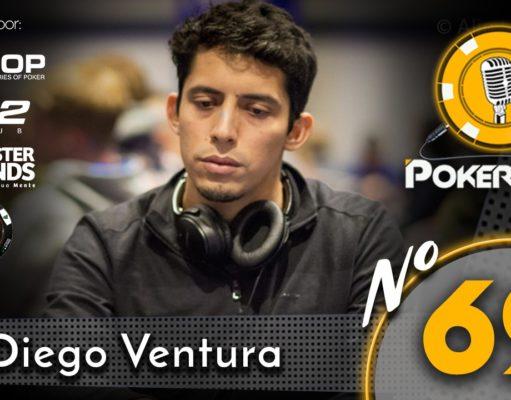 Diego Ventura no 69º episódio do Pokercast