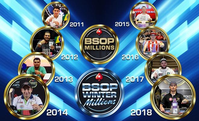 Campeões do BSOP Millions