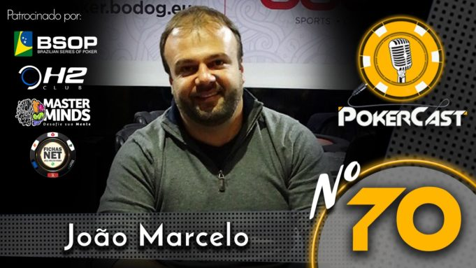 João Marcelo no Pokercast