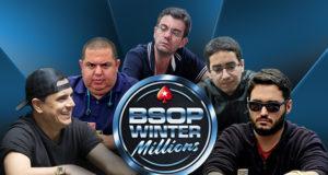 Classificados nos satélites para o BSOP Winter Millions