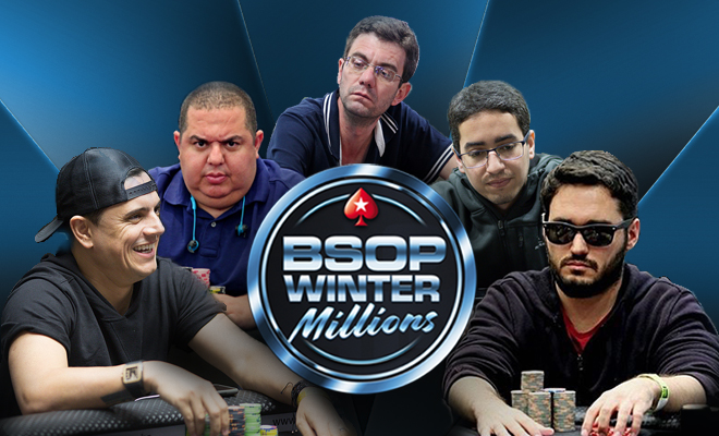 Classificados nos satélites para o BSOP Winter Millions