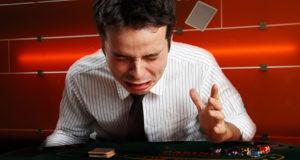 Jogador chorando por bad beat