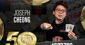 Joseph Cheong - Campeão Evento #34 - WSOP 2019