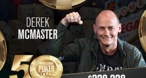 Derek McMaster - Campeão Evento #4 - WSOP