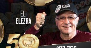 Eli Elezra - Campeão Evento #20 - WSOP 2019