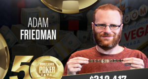 Adam Friedman - Campeão Evento #35 - WSOP 2019