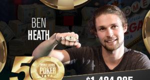Ben Heath - Campeão Evento #5 - WSOP 2019
