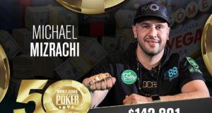 Michael Mizrachi - Campeão Evento #27 - WSOP 2019