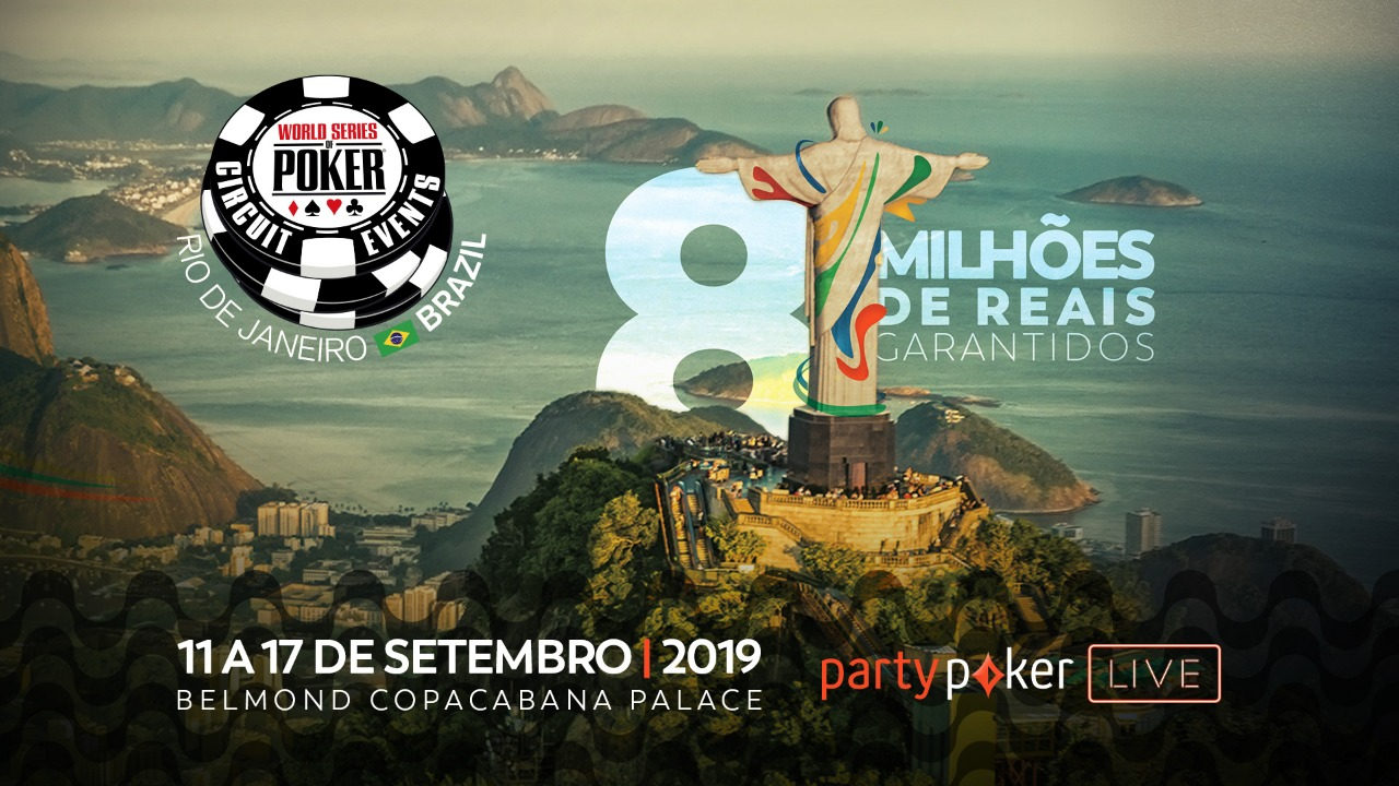 WSOP Brazil vai permitir buy-in online